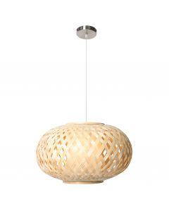 Suspension NATURAL (D50cm) en bambou naturel