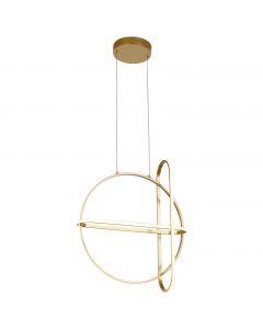 Suspension LED GOLD en aluminium doré-1-image-2005964
