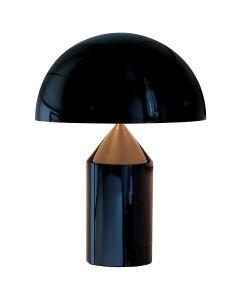 Lampe design ATOLLO (H70cm) en aluminium noir-1-image-2103245