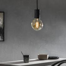 Ampoule LED E27 AMBRE FLEX en verre ambré Ø12.5cm