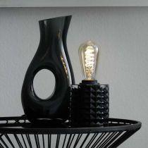 Ampoule LED E27 AMBRE FLEX en verre ambré Ø6.5cm