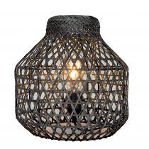 Lampe à poser HOUARA en bambou noir