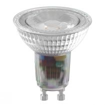 Ampoule LED GU10 en verre transparent