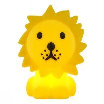Veilleuse enfant LED LION en silicone jaune