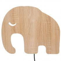 Applique murale enfant ELEPHANT en bois de chêne