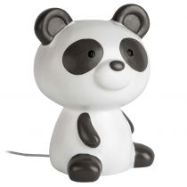 Veilleuse enfant LED PANDA en polypropylène blanc et noir