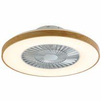Ventilateur lumineux LED FREE (D60cm) en polycarbonate blanc