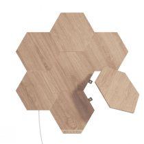 Kit de 7 hexagones muraux lumineux design ELEMENTS