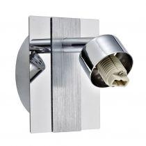 Spot orientable personnalisable REMIX argenté en métal