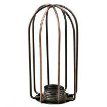 Spot tête filaire gamme REMIX en métal couleur cuivre antique