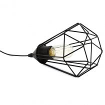 Lampe baladeuse filaire TARBES noire en métal