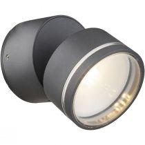 Projecteur extérieur orientable Led LISSY gris anthracite en alu