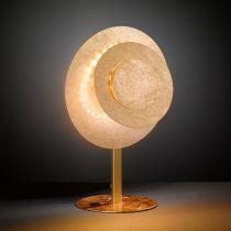 Lampe Led design LAURENE dorée en métal
