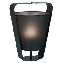 Lampe à poser design CINCO gris anthracite en métal