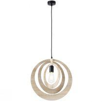 Suspension design KOTO en fibres de bois clair