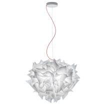 SLAMP - Suspension design M VELI COUTURE blanche en polycarbonate