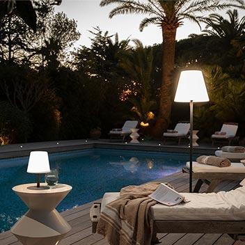 Lumière piscine Image