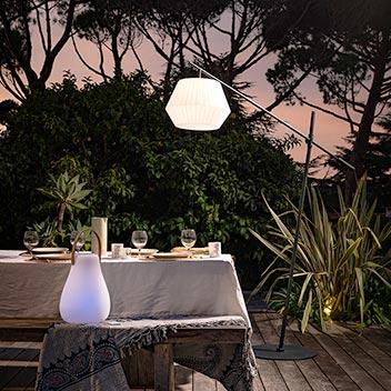 Éclairage terrasse Image