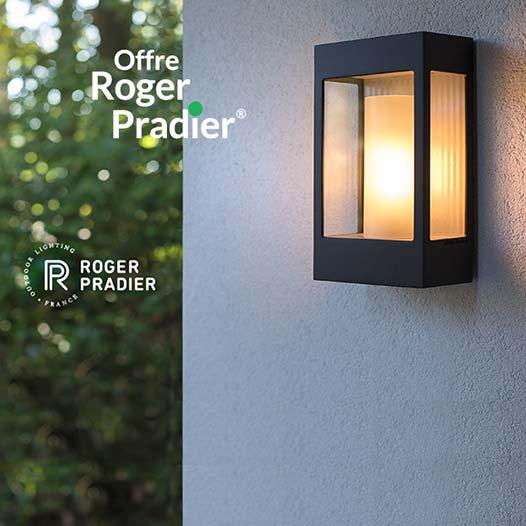 Vos luminaires d'extérieur Roger Pradier © remboursés en carte cadeau Keria*